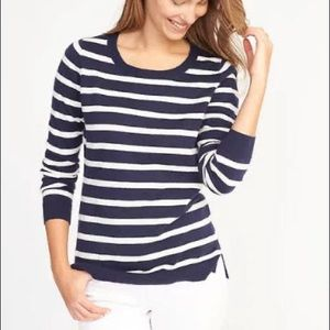 Old Navy Classic Striped Sweater